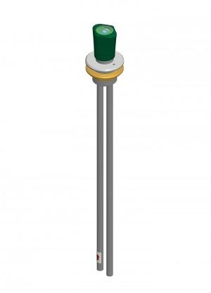Comando a distanza per acqua - tubi Ø10x1 - inox