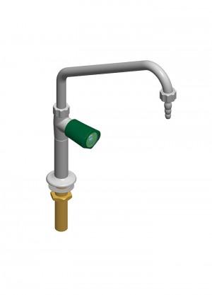 Collo di cigno con rubinetto - G1/2
