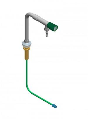 Colonna con 1 rubinetto e tubo - h=200 l=150