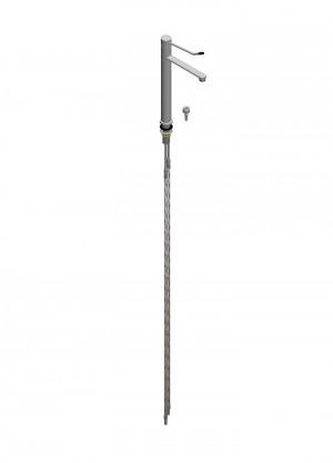 Miscelatore per acqua bocca girevole h=300 l=200 - flessibili con tubetto Ø10