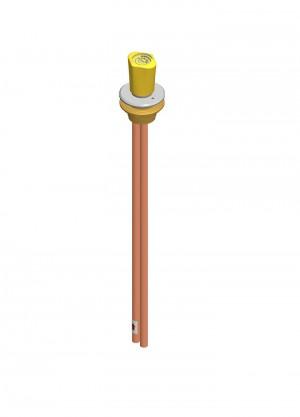 Comando a distanza - tubi Ø10x1 - gas