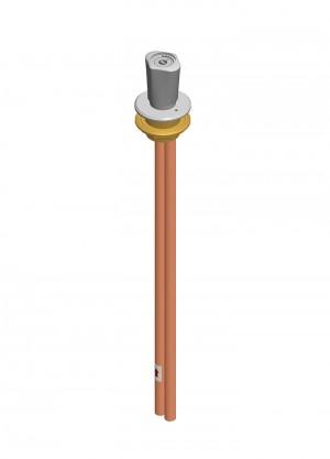 Comando a distanza - tubi Ø12x1 - vuoto