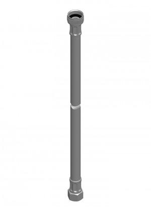 Raccordo flessibile con schermatura inox l=1500 G1/2 - G3/8