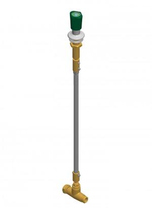 Comando a distanza con rubinetto - G1/2m - G1/2f